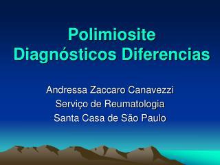 Polimiosite Diagnósticos Diferencias
