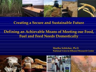 Creating a Secure and Sustainable Future