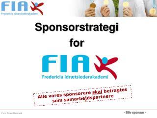 Sponsorstrategi for