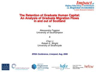 The Retention of Graduate Human Capital:  An Analysis of Graduate Migration Flows