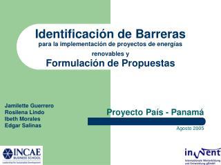 Proyecto Pa�s - Panam� Agosto 2005