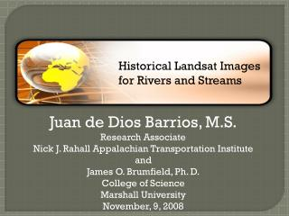 Juan de Dios Barrios, M.S. Research Associate