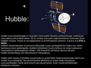 Hubble: