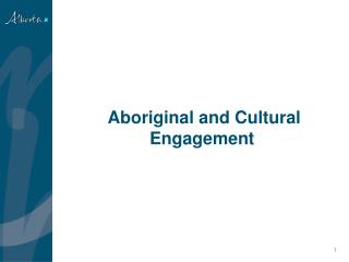 Aboriginal and Cultural Engagement