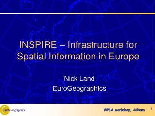 INSPIRE – Infrastructure for Spatial Information in Europe