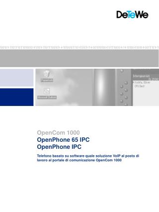 OpenPhone 65 IPC OpenPhone IPC