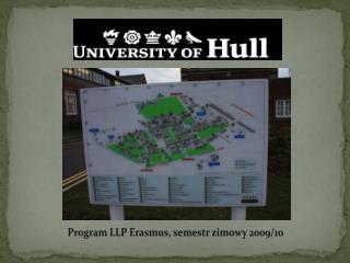 Program LLP Erasmus, semestr zimowy 2009/10