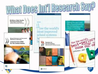 What Does Int'l Research Say?