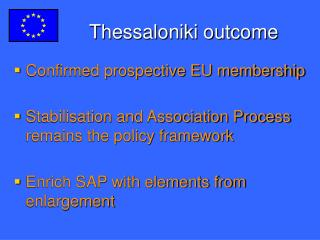 Thessaloniki outcome
