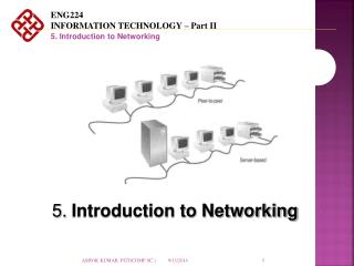 5.  Introduction to Networking