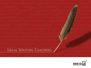 Legal Writing Coaching