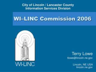 WI–LINC Commission 2006