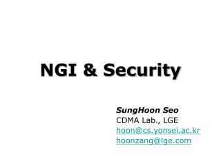NGI & Security