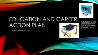 Education and career action plan
