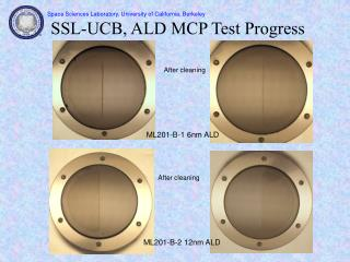 SSL-UCB, ALD MCP Test Progress