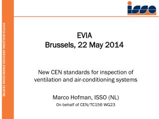 EVIA Brussels, 22 May 2014