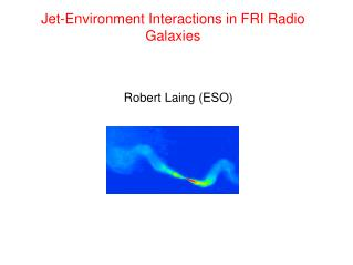 Jet-Environment Interactions in FRI Radio Galaxies