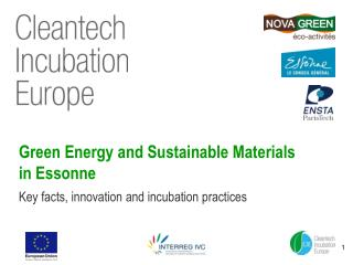 Green Energy and Sustainable Materials in Essonne