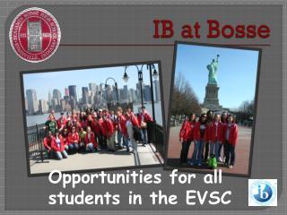 IB at Bosse