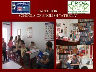 FACEBOOK: SCHOOLS OF ENGLISH
