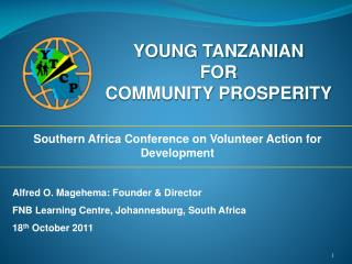 YOUNG TANZANIAN FOR  COMMUNITY PROSPERITY