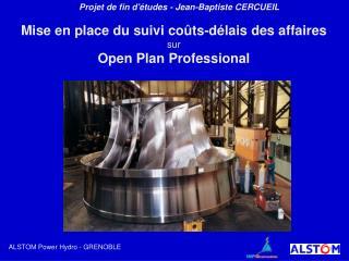 Projet de fin d'études - Jean-Baptiste CERCUEIL