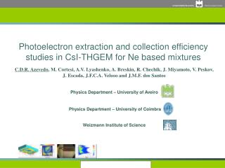 Photoelectron extraction and collection efficiency studies in CsI-THGEM for Ne based mixtures