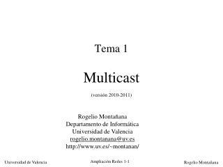 Tema 1  Multicast  versi n 2010-2011