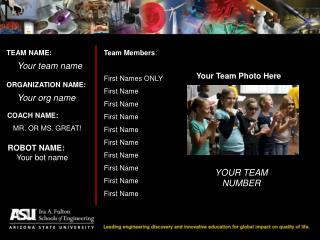 TEAM NAME: