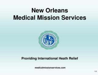 New Orleans Medical Mission Services