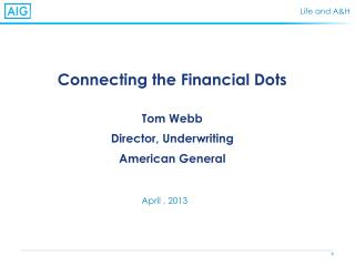Connecting the Financial Dots