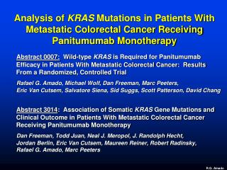 The  KRAS  Oncogene