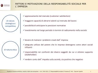 apprezzamento del mercato (customer satisfaction)