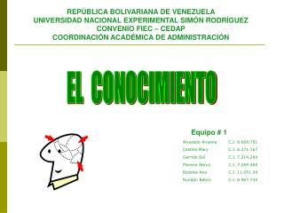 REPÚBLICA BOLIVARIANA DE VENEZUELA UNIVERSIDAD NACIONAL EXPERIMENTAL SIMÓN RODRÍGUEZ