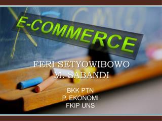 FERI SETYOWIBOWO M. SABANDI