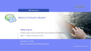 What's A Friend's Worth?