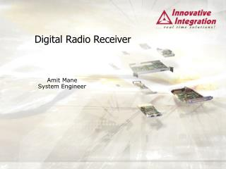 Digital Radio Receiver
