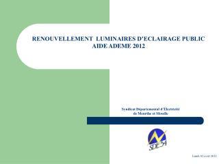 Syndicat Départemental d'Électricité  de Meurthe et Moselle
