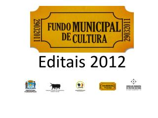 Editais 2012
