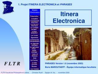 Itinera Electronica
