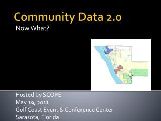 Community Data 2.0