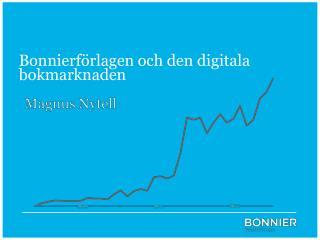 Bonnierförlagen och den digitala bokmarknaden