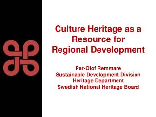 The National Heritage Board�s vision