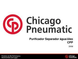 Purificador Separador água/óleo CPP
