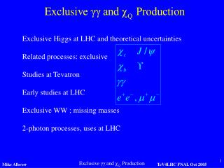 Exclusive Higgs at LHC and theoretical uncertainties