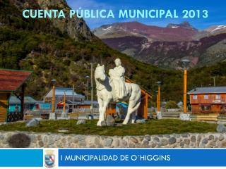 Cuenta pública municipal 2013