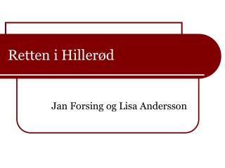 Retten i Hillerød