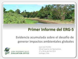 Evidencia acumulada sobre el desafío de generar impactos ambientales globales