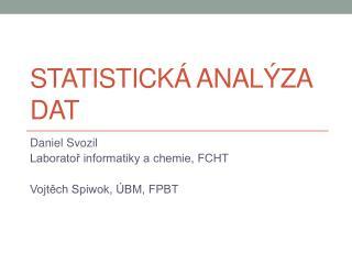 Statistick á analýza dat