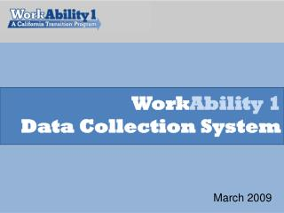 Work Ability 1 Data Collection System